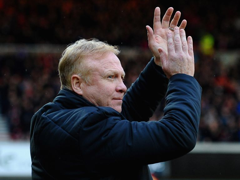 Alex McLeish had a point to celebrate as Forest boss