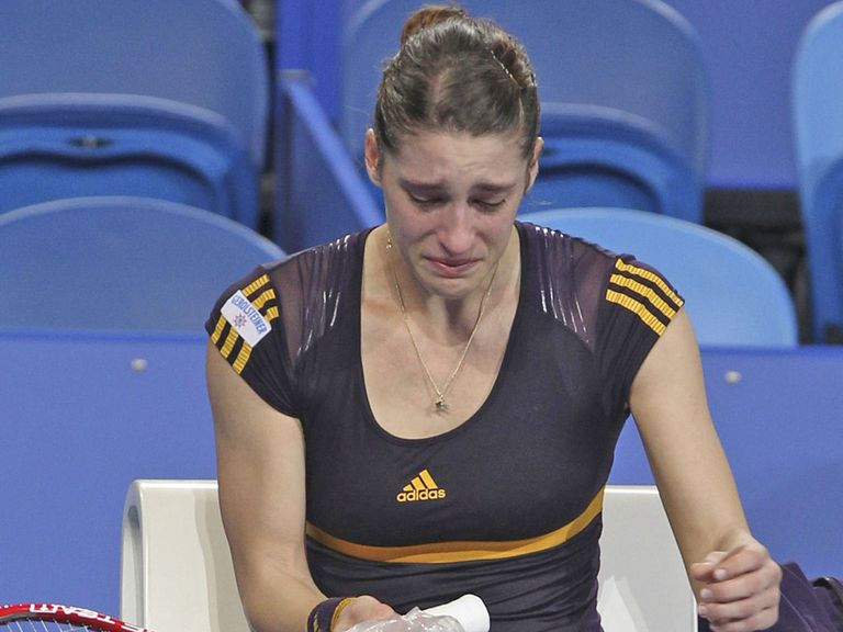 Andrea Petkovic Pulls out of her Hopman Cup match