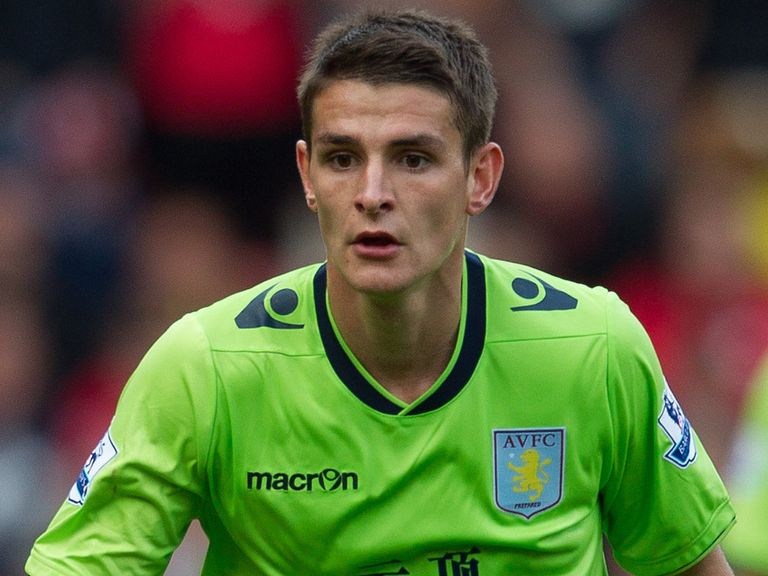 Ashley Westwood: Defended by Villa boss Paul Lambert