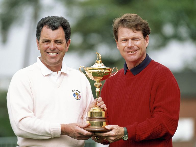 Bernard Gallacher went up against Tom Watson