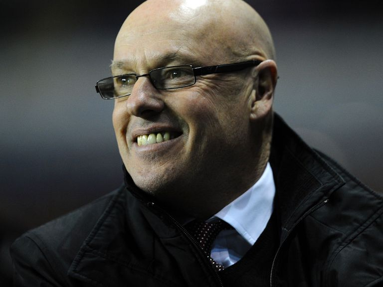 Brian McDermott: Facing a struggle with Reading