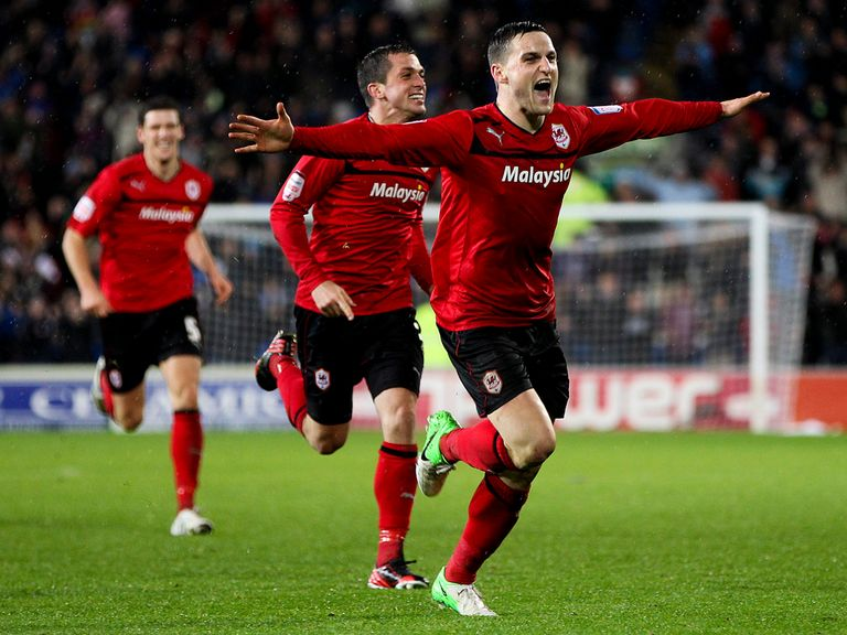 Craig Conway: Pushing for a start for Cardiff