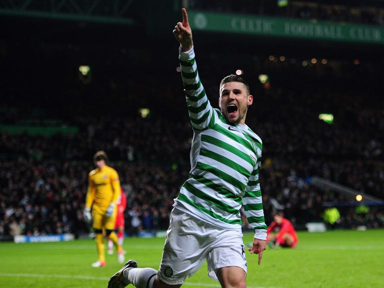 Gary Hooper: Has had a sterling season so far for Celtic