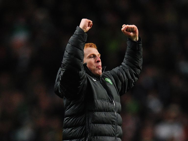 Neil Lennon: Delighted with his team's form