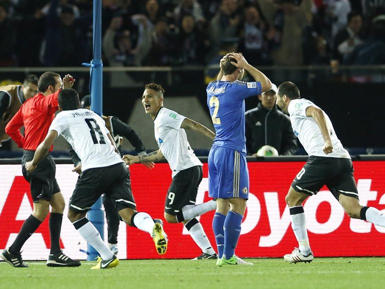 Joy for Corinthians, dejection for Chelsea