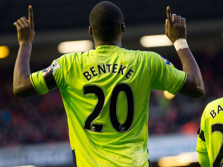 Benteke: Eight goals already in the league