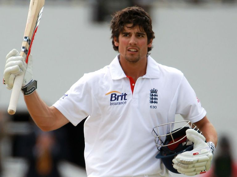 Alastair Cook: Another Test century