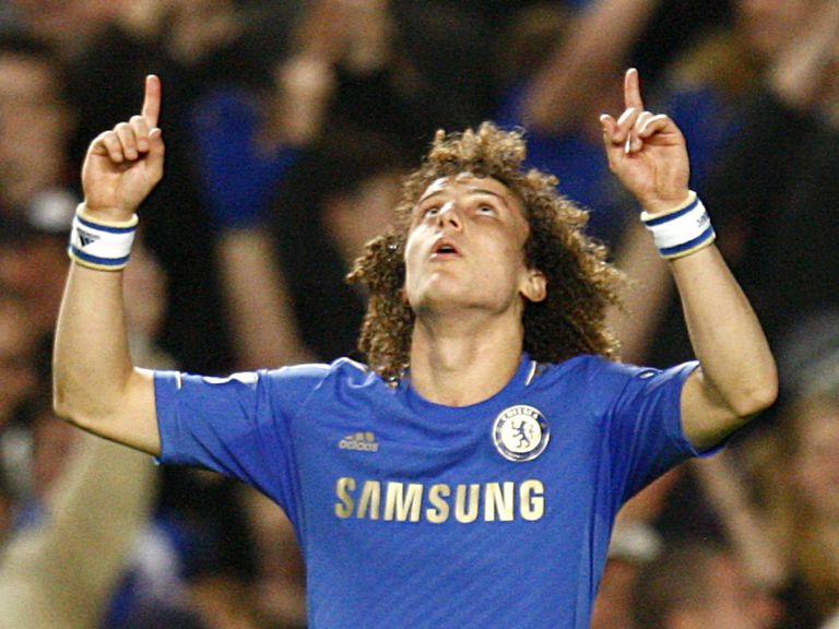 David Luiz: Scored for Chelsea again on Sunday