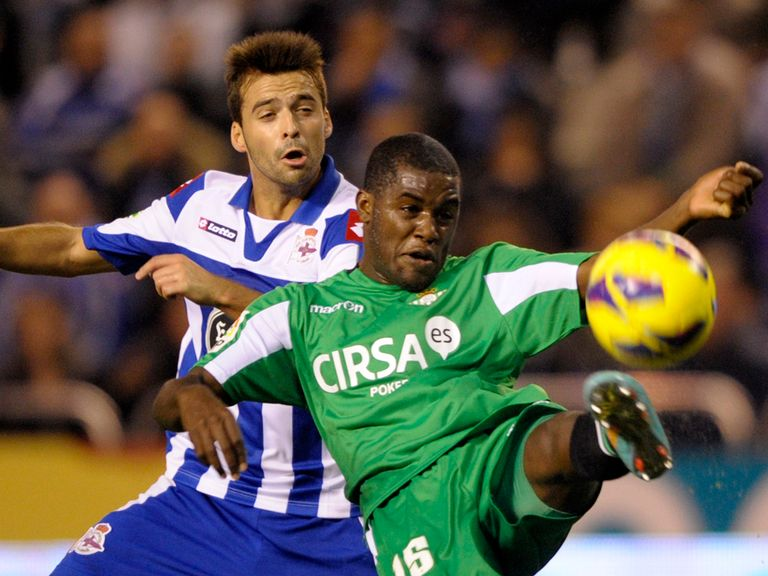Joel Campbell scored Real Betis' winner against Espanyol.