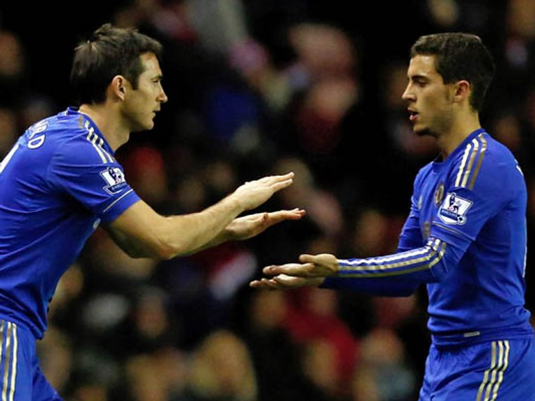 Lampard: Believes Hazard can be one of the best in the world
