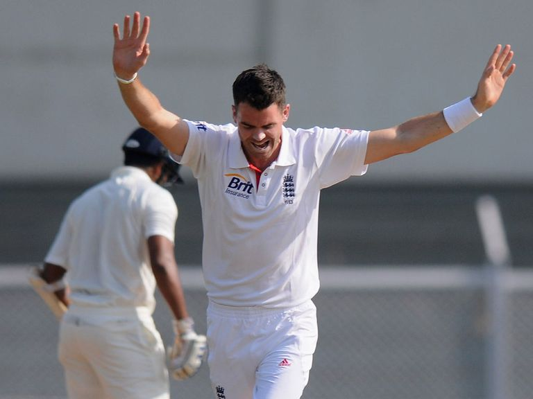 James Anderson: Finished with three wickets