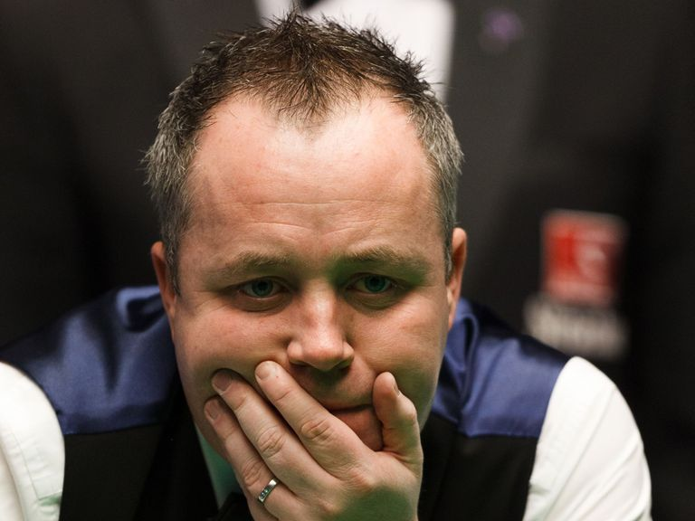 John Higgins: Wants to complete hat-trick