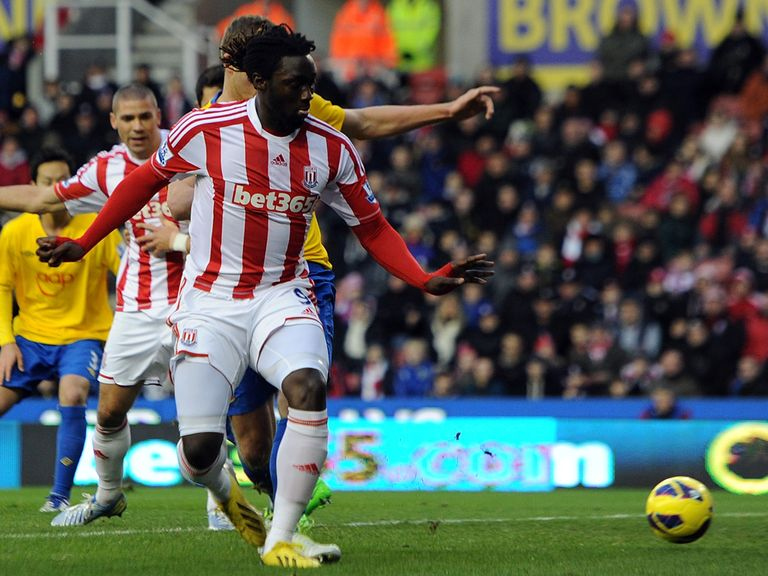 Kenwyne Jones: Stoke striker has responded after finding pig's head in his locker