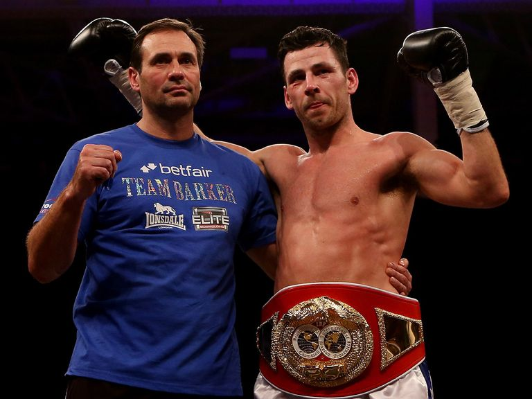 Darren Barker: Fancied to get the job done on points