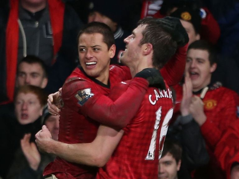 Javier Hernandez: Scored the winning goal