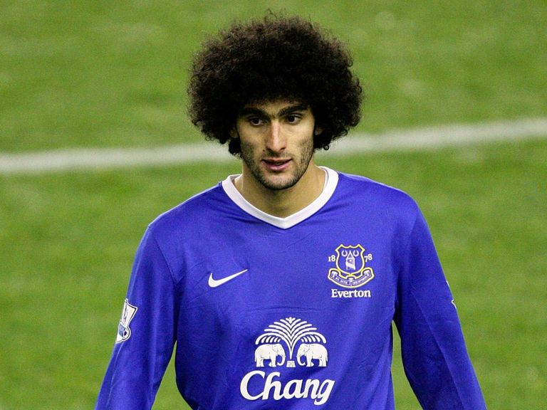 Marouane Fellaini: Plans to honour his Everton contract
