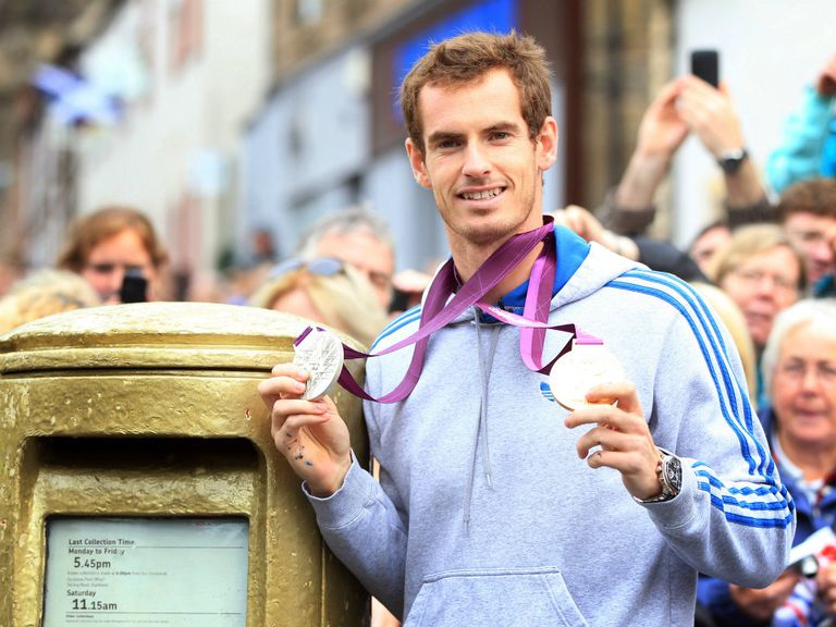 Andy Murray: Favourite for 2013 SPOTY award
