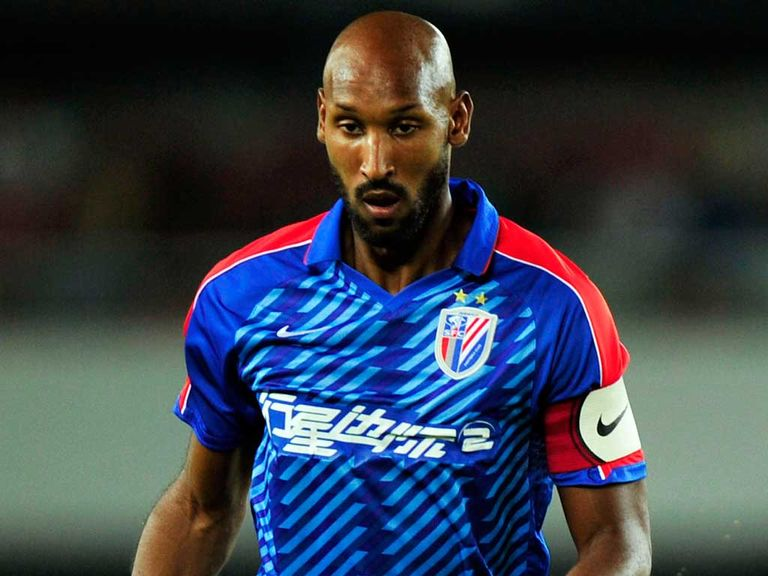 Anelka: Signs for West Brom on a free transfer