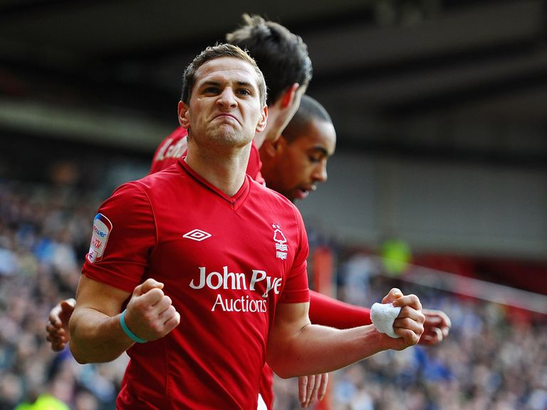 Billy Sharp scored two goals for Forest