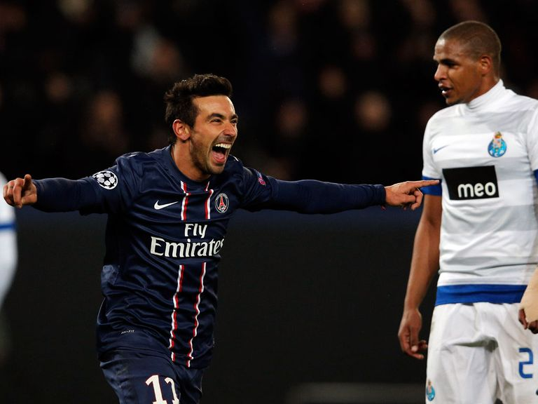 Ezequiel Lavezzi scored a late winner for PSG