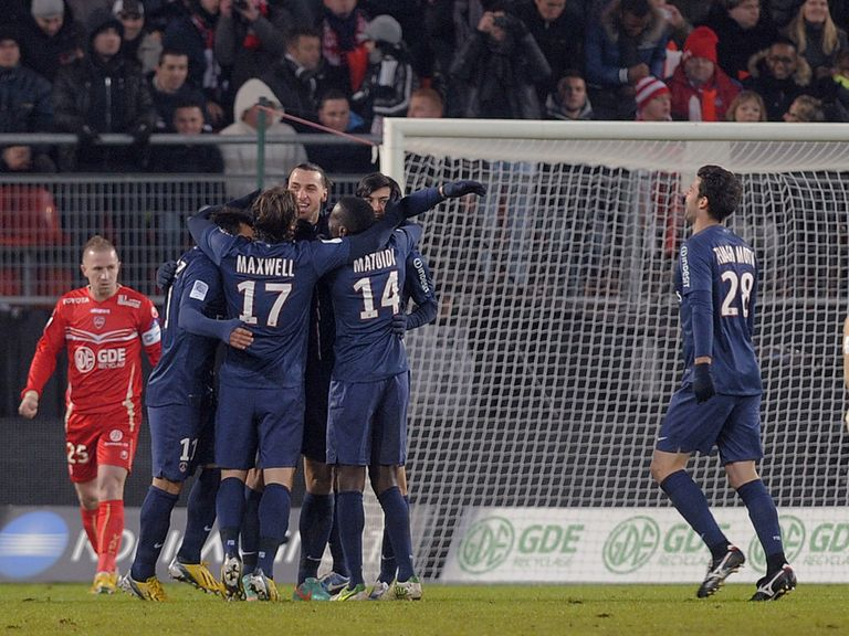 Zlatan Ibrahimovic: Hat-trick hero for PSG