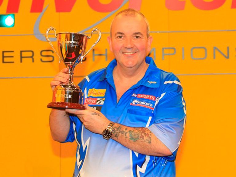 Phil Taylor: Champion again