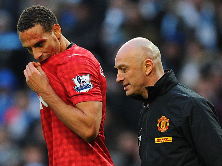 Rio Ferdinand: Struck by a coin