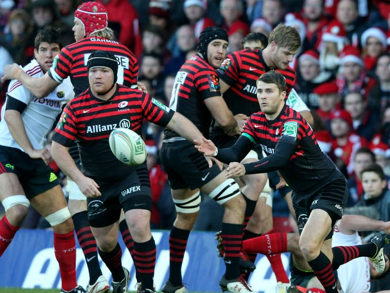 Saracens delivered for us against Munster