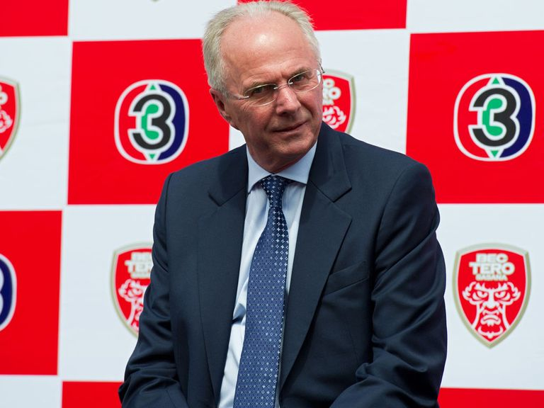 Sven-Goran Eriksson: Appointed technical director of Al Nasr
