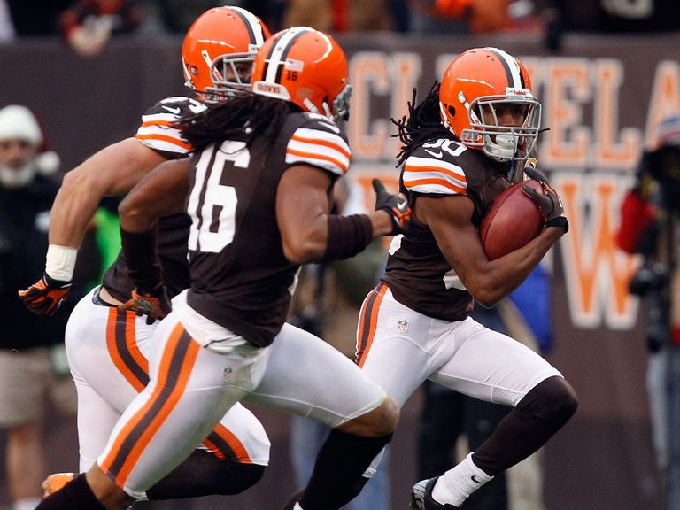 Travis Benjamin: Returned a punt 93 yards