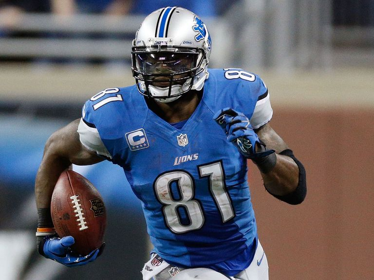 Calvin Johnson: Set new career landmark