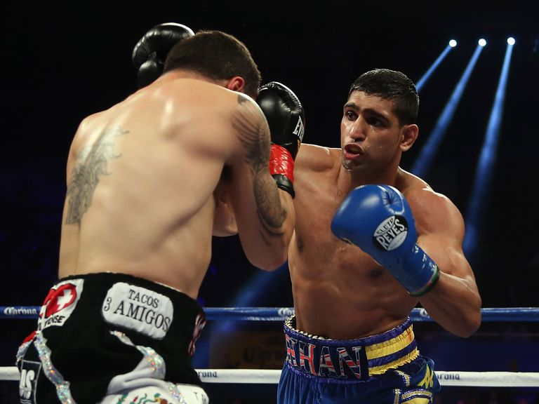 Amir Khan: Returns to action in the UK in Sheffield on April 27