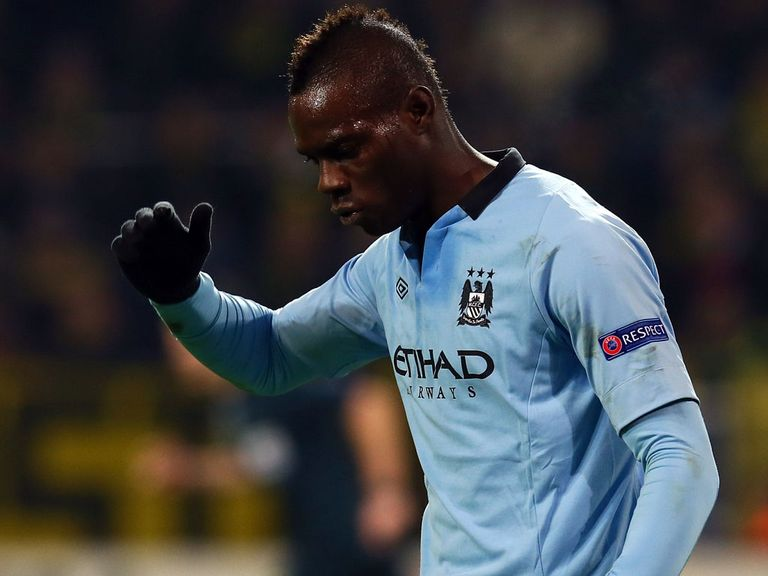 Mario Balotelli: Struggled against Man City