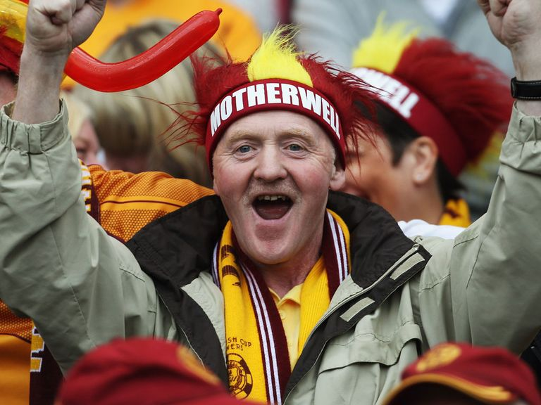 Motherwell fans have something to cheer about