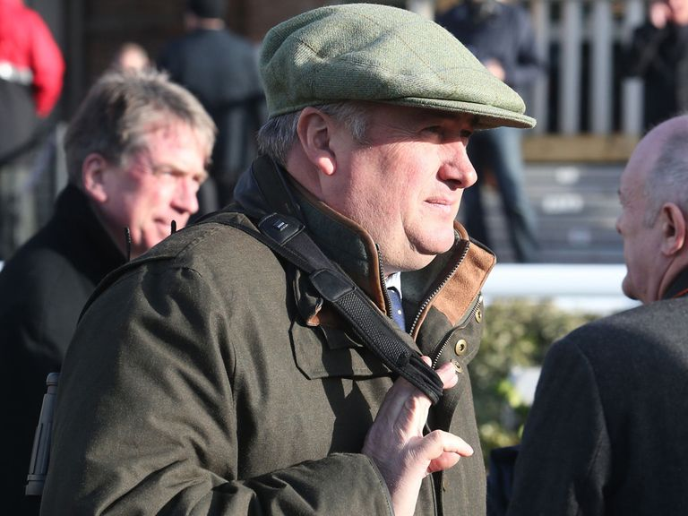 Paul Nicholls: Forced to rule Tidal Bay out of National