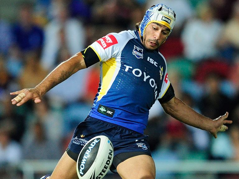 Thurston: Can help the Cowboys win the NRL