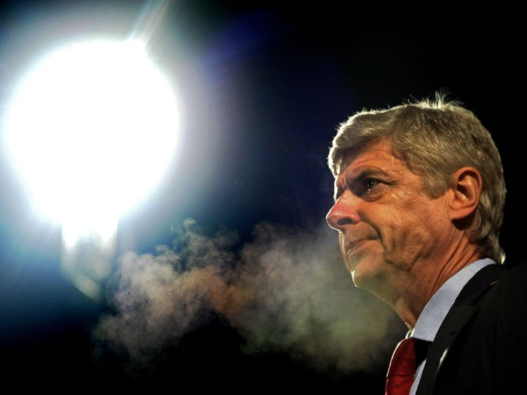 Arsene Wenger: Under pressure