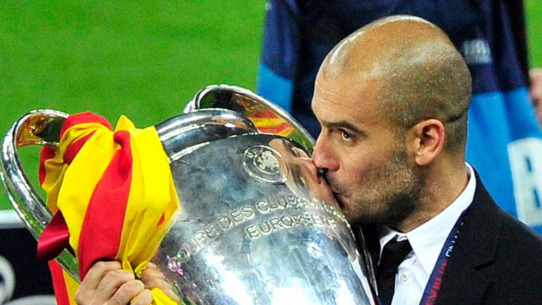 Pep Guardiola: Will manage Bayern against his former club in friendly