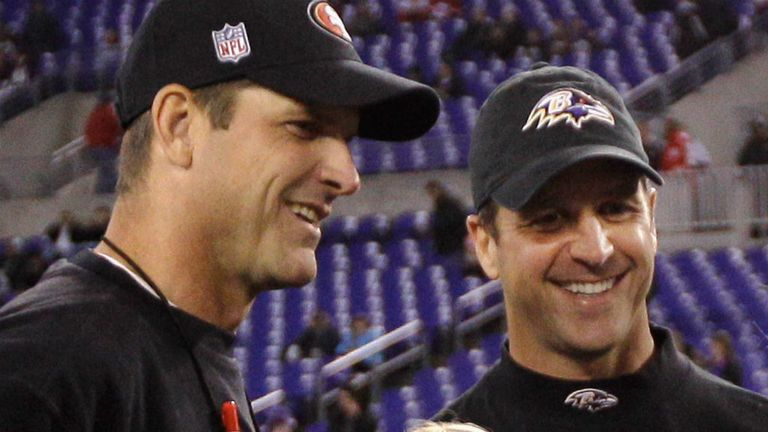 Jim and John Harbaugh are heading to the Super Bowl