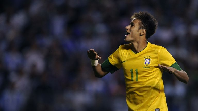 Neymar: Could extend his contract at Santos