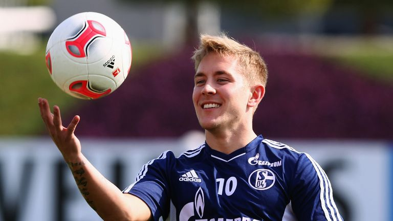 Lewis Holtby: Has been linked with an early move to Tottenham