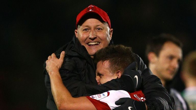 Russell Slade: Impressed with his young players