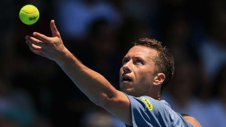 Philipp Kohlschreiber: Survived a second-set wobble