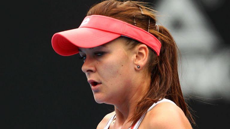 Agnieszka Radwanska: Claimed a seventh straight win