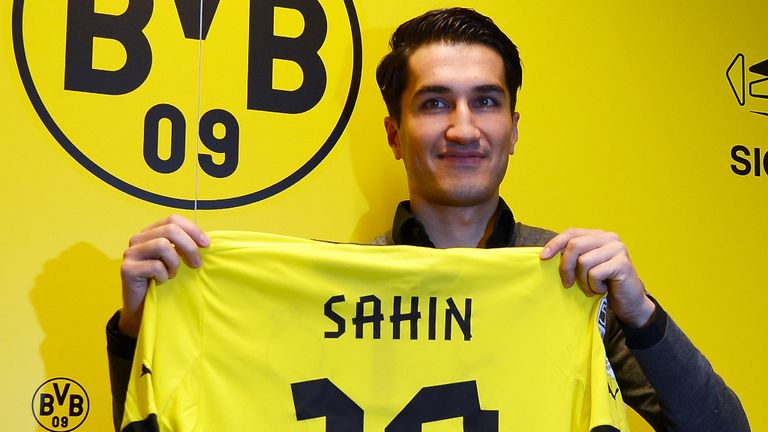 Nuri Sahin: Set to start for Dortmund