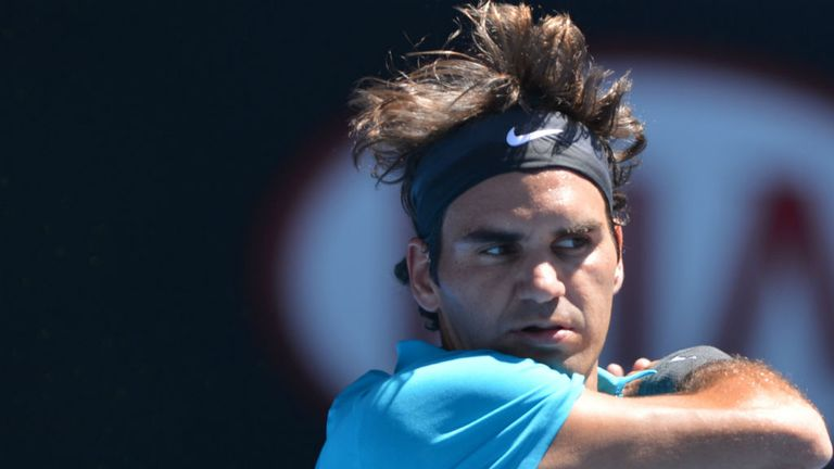Roger Federer: Breezed through his first-round match