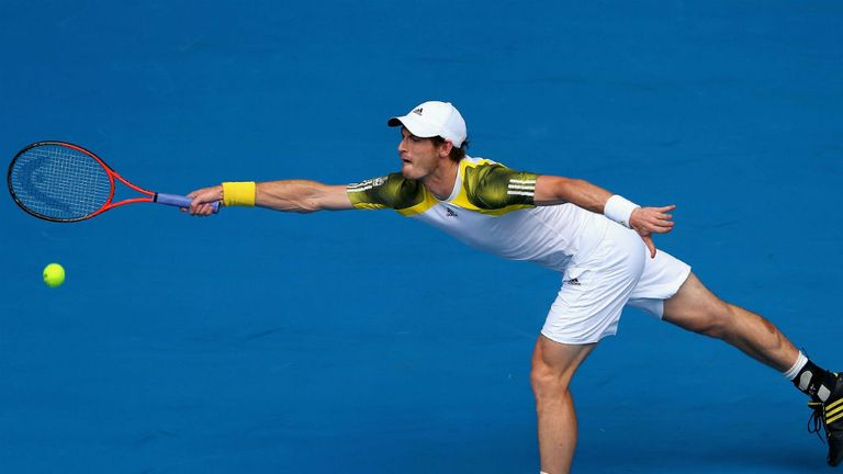 Andy Murray: Registered a convincing win over Joao Sousa