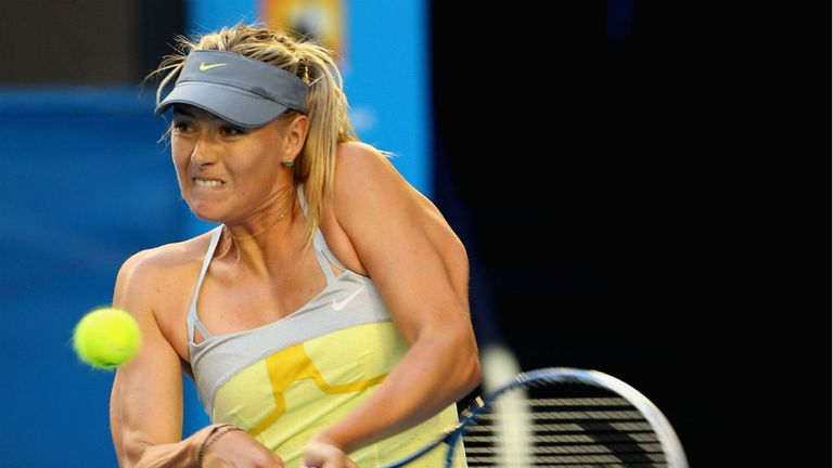 Maria Sharapova: Completed an emphatic win over Venus Williams