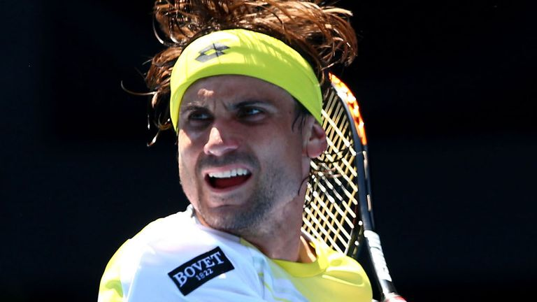 David Ferrer: looking to win his second tournament of the season in Buenos Aires