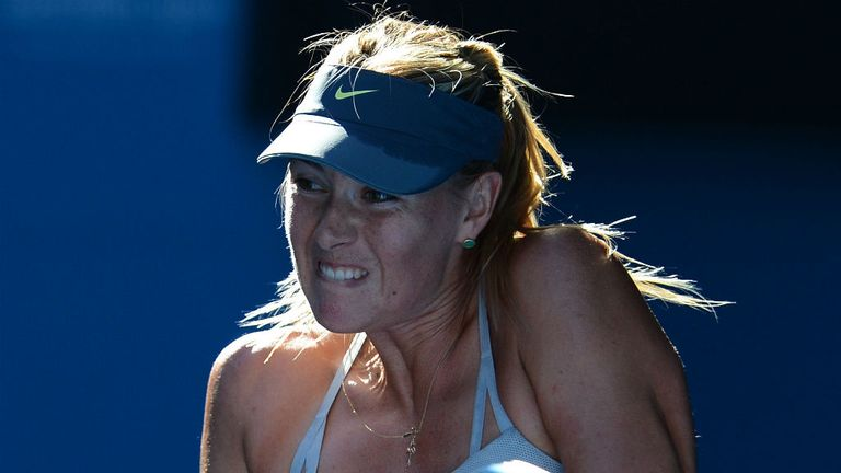 Maria Sharapova: Found Li Na too strong on the day